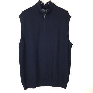 NWT Fairway & Greene Merino Wool Vest Size XXL